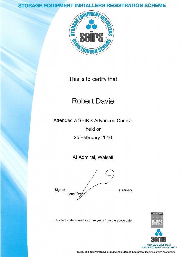 SEIRS Advanced Course